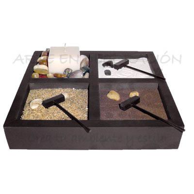 jard n zen. Black Bedroom Furniture Sets. Home Design Ideas